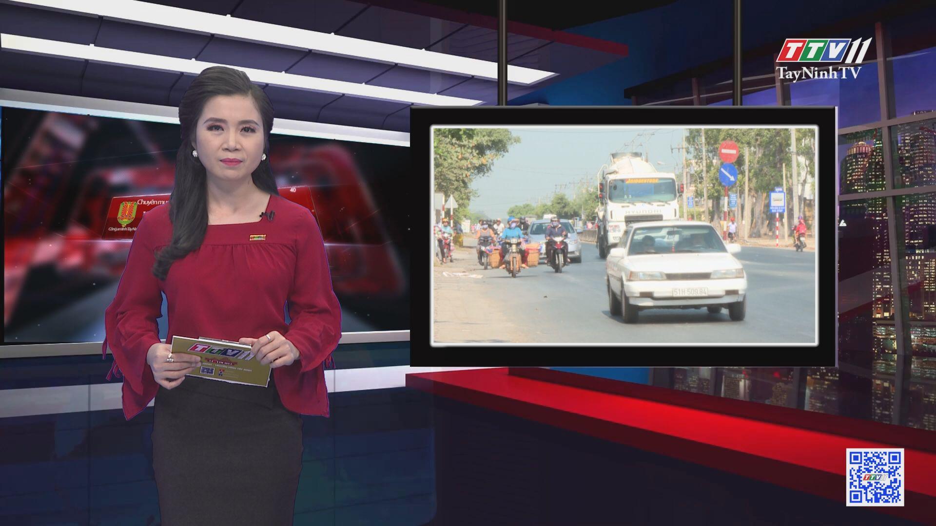 Chạy xe lấn làn tai nạn khó tránh | VĂN HÓA GIAO THÔNG | TayNinhTV