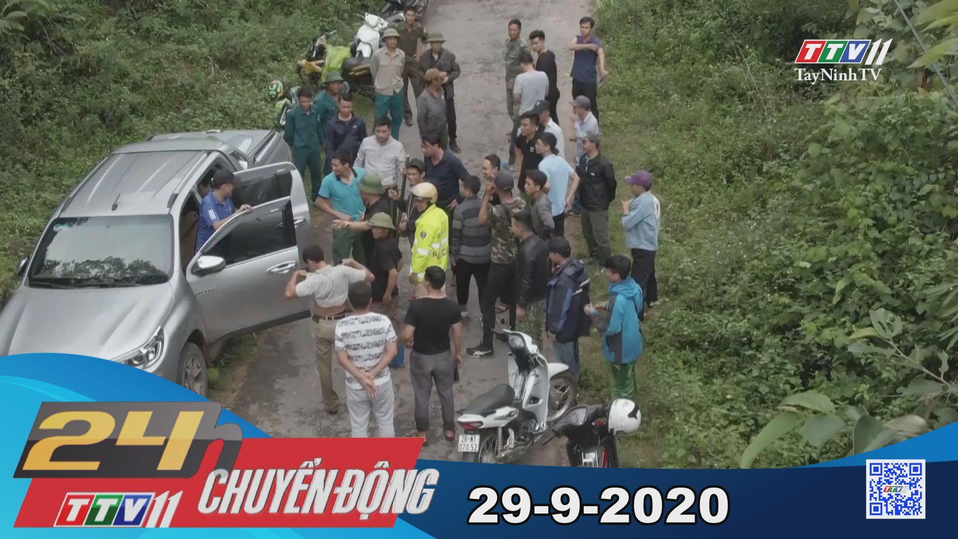 24h Chuyển động 29-9-2020 | Tin tức hôm nay | TayNinhTV