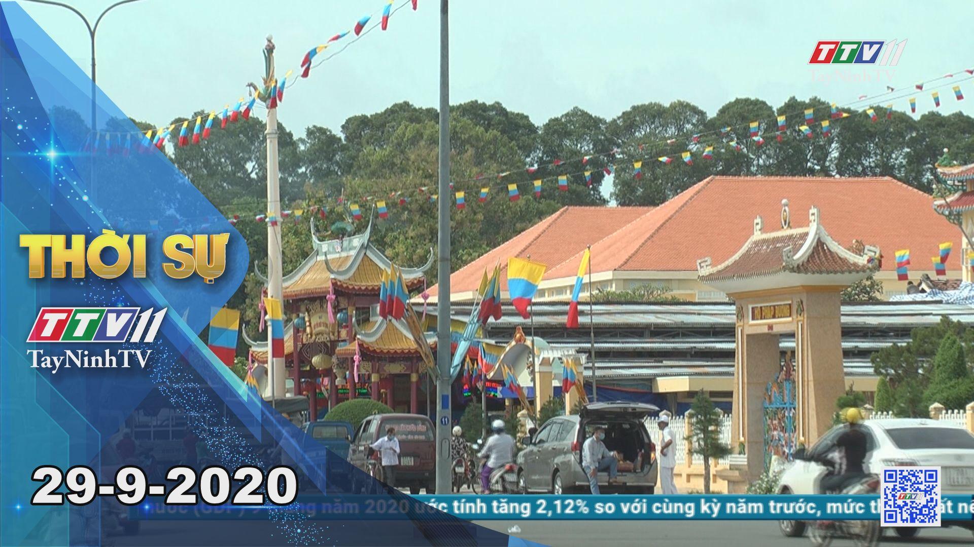 Thời sự Tây Ninh 29-9-2020 | Tin tức hôm nay | TayNinhTV