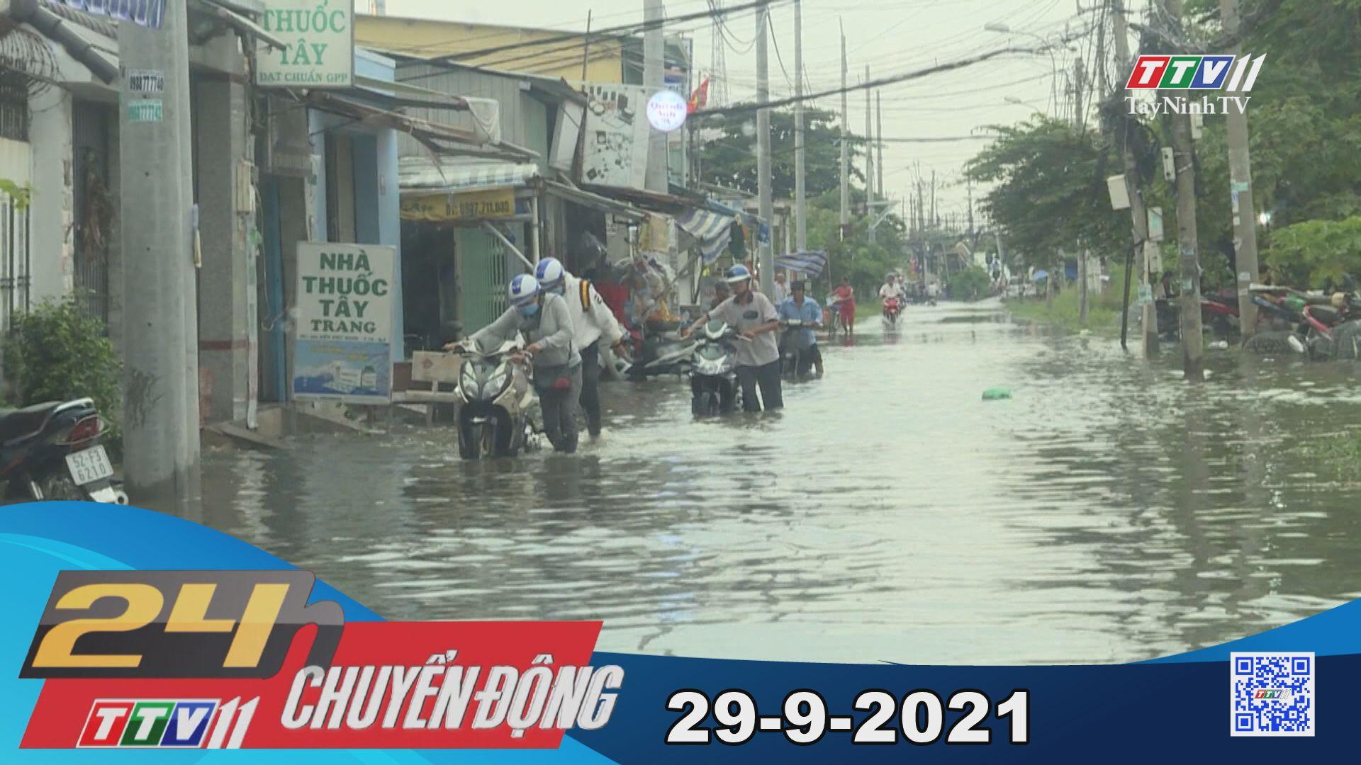 24h Chuyển động 29/9/2021 | Tin tức hôm nay | TayNinhTV