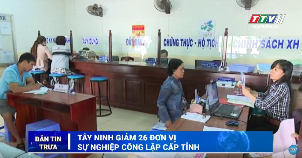 Bản tin trưa 29-10-2019 | Tin tức hôm nay | Tây Ninh TV