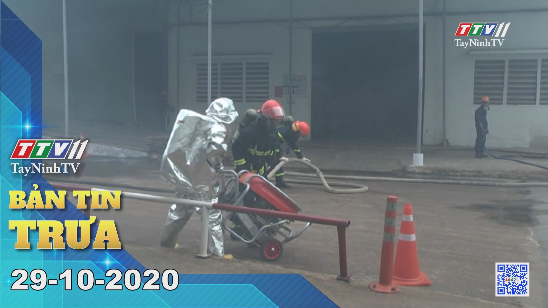 Bản tin trưa 29-10-2020 | Tin tức hôm nay | TayNinhTV