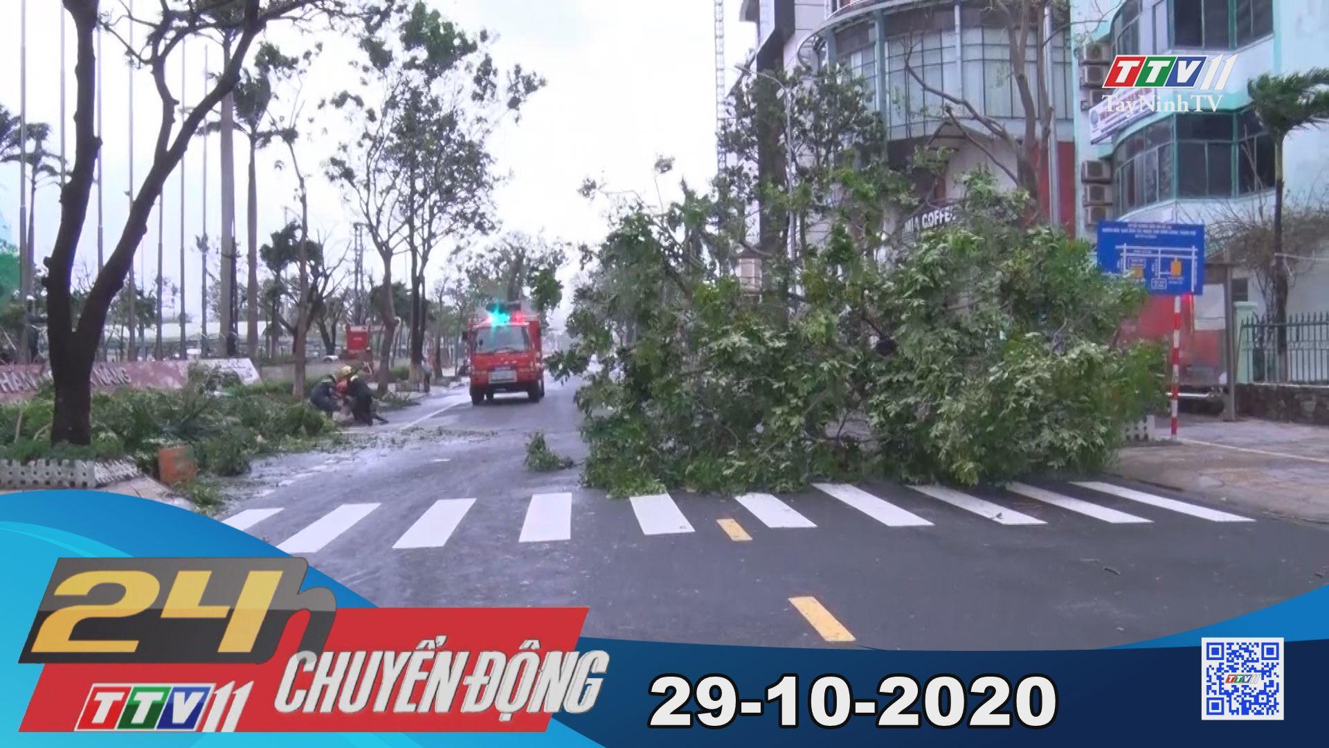 24h Chuyển động 29-10-2020 | Tin tức hôm nay | TayNinhTV