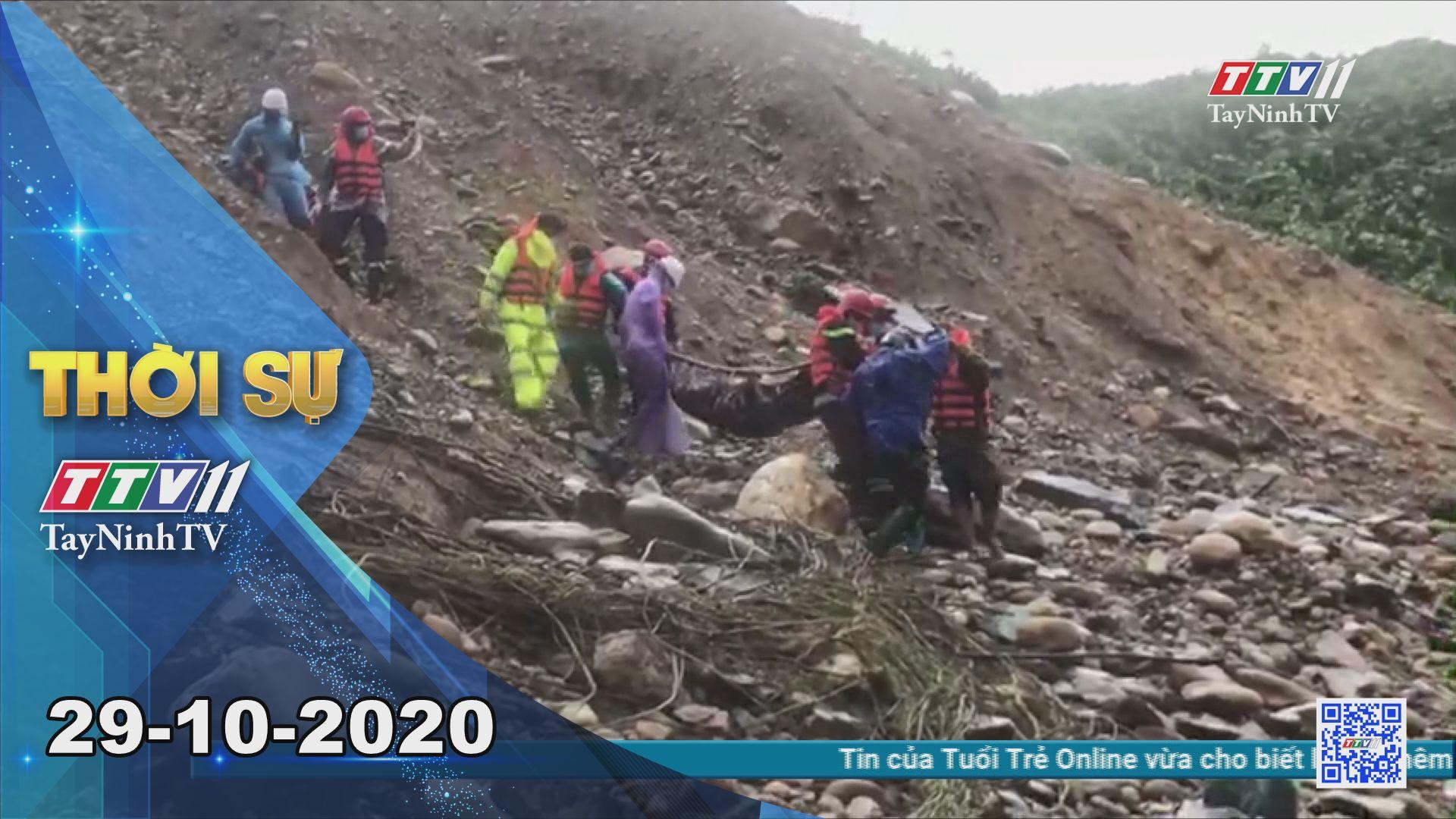 Thời sự Tây Ninh 29-10-2020 | Tin tức hôm nay | TayNinhTV