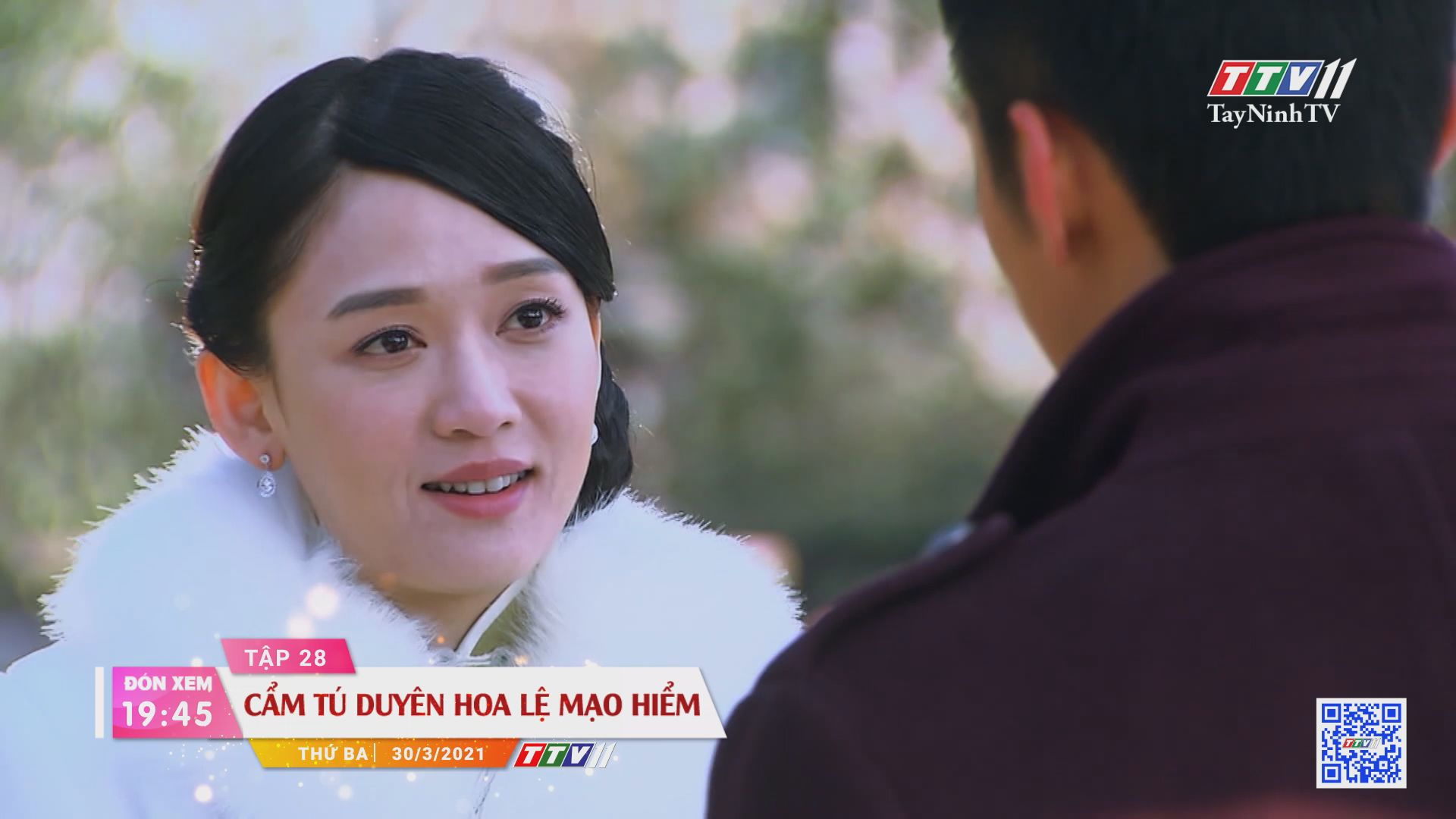 Cẩm Tú duyên hoa lệ mạo hiểm-Trailer tập 28 | PHIM CẨM TÚ DUYÊN HOA LỆ MẠO HIỂM | TayNinhTVE