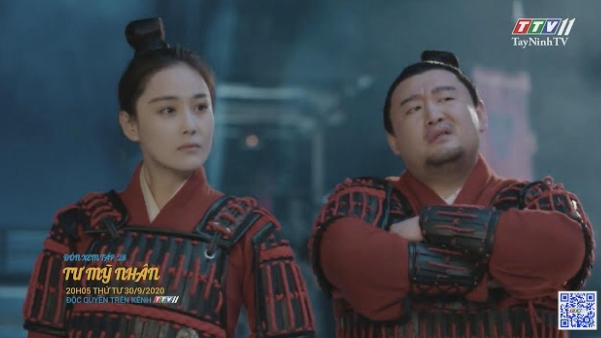 Tư mỹ nhân-TẬP 28 trailer | PHIM TƯ MỸ NHÂN | TayNinhTV