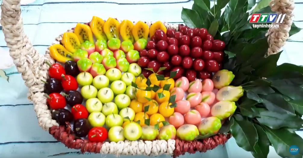 Bánh đậu xanh trái cây | MÓN NGON DÂN DÃ | Tây Ninh TV