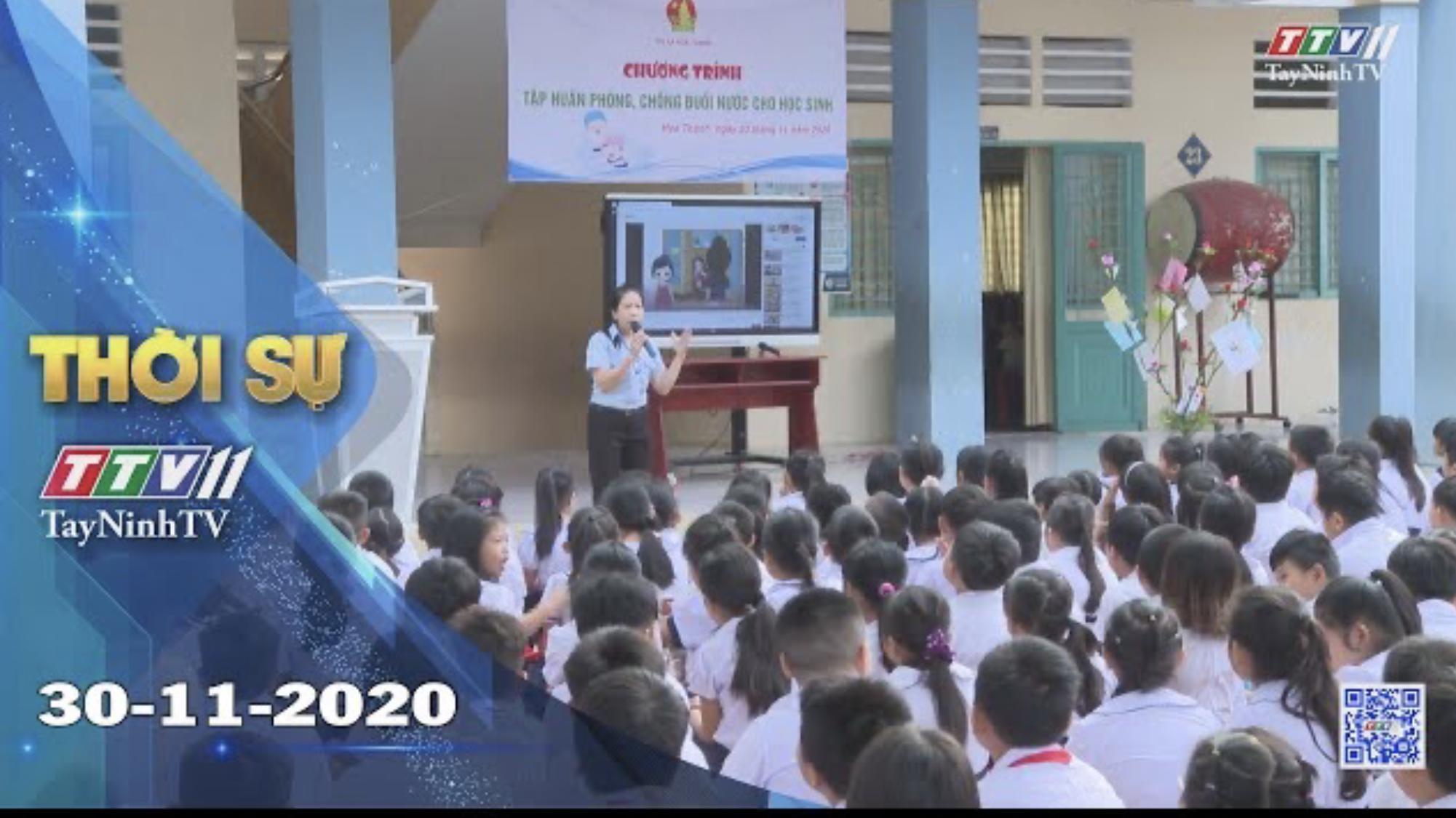 Thời sự Tây Ninh 30-11-2020 | Tin tức hôm nay | TayNinhTV