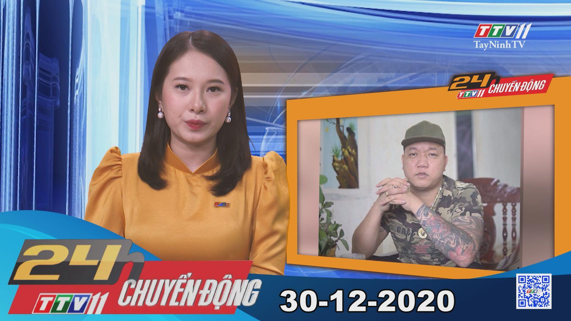 24h Chuyển động 30-12-2020 | Tin tức hôm nay | TayNinhTV
