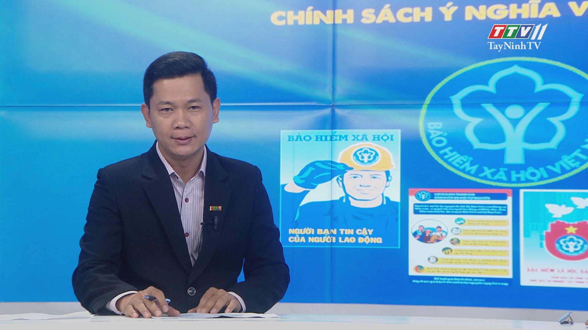 Bảo hiểm xã hội tự nguyện chính sách ý nghĩa và nhân văn | TIẾNG NÓI CỬ TRI | TayNinhTV