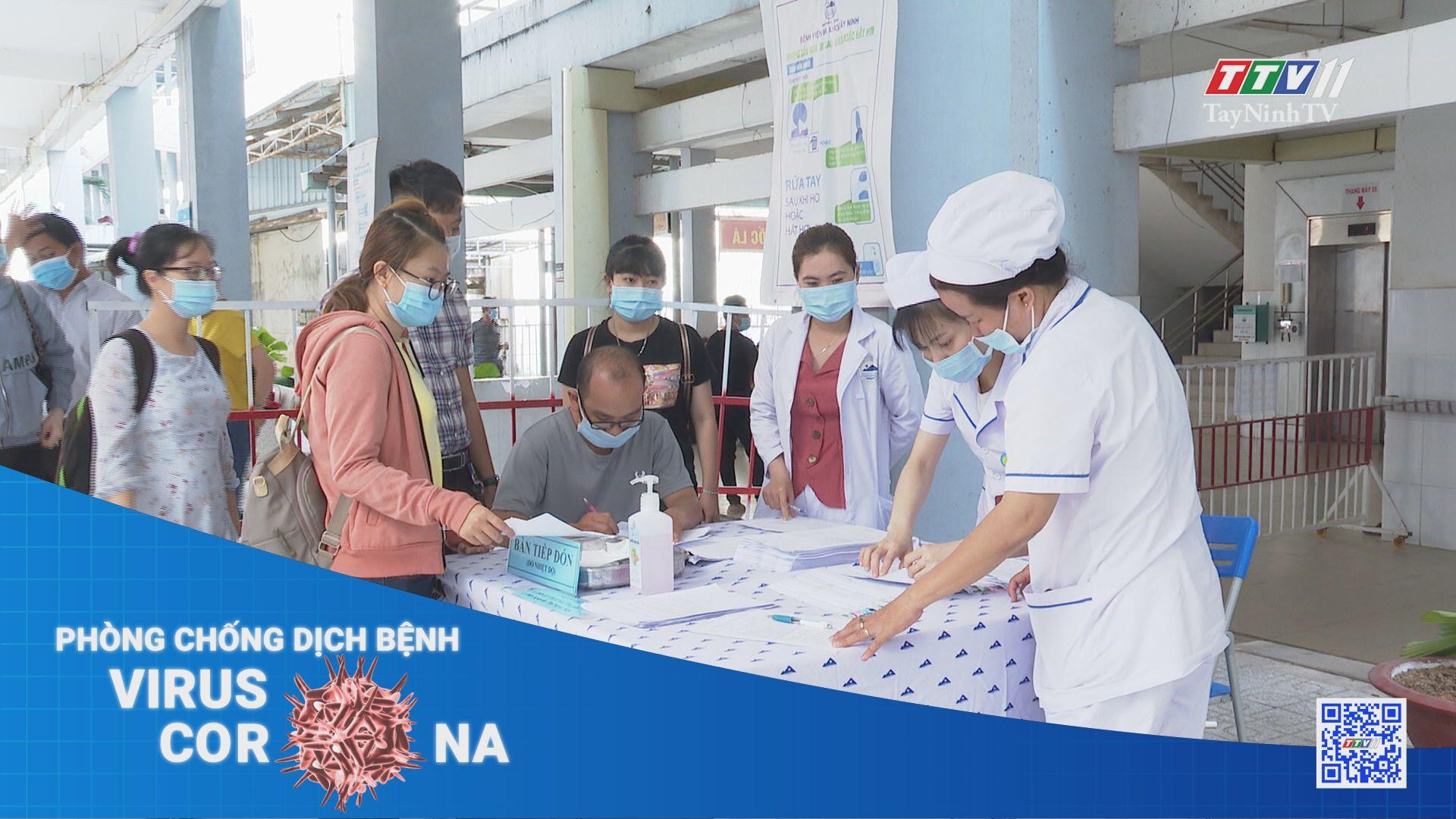Tăng cường tiêm chủng vaccine phòng Covid-19 | THÔNG TIN DỊCH COVID-19 | TayNinhTV