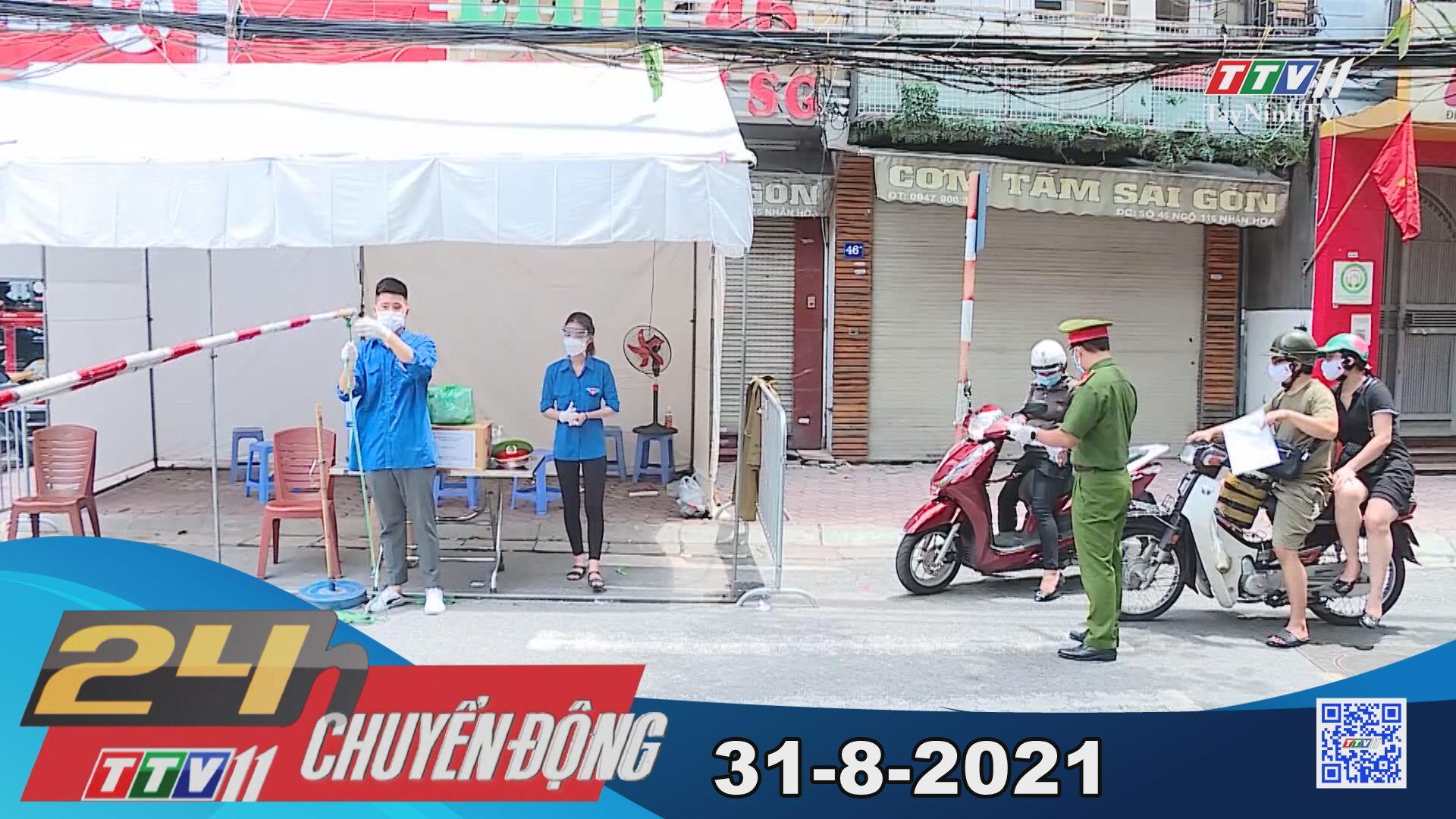 24h Chuyển động 31-8-2021 | Tin tức hôm nay | TayNinhTV